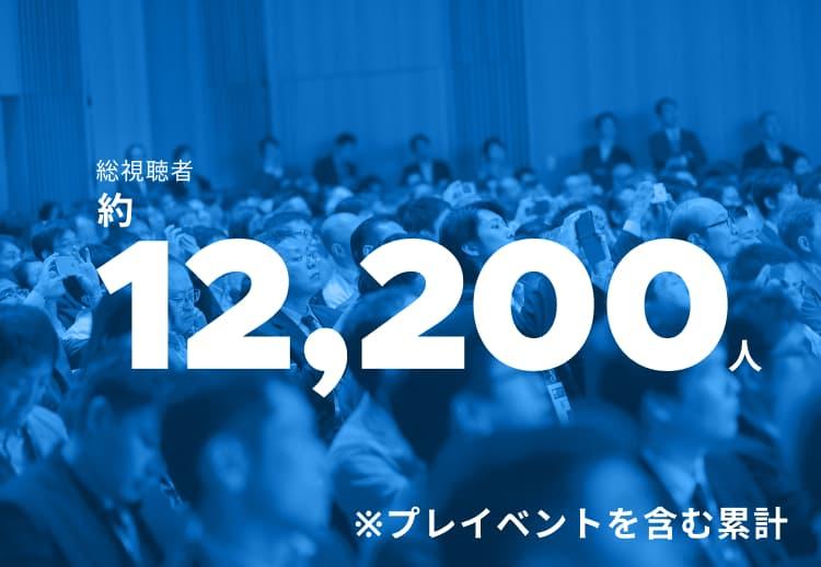 総視聴者数約7,700